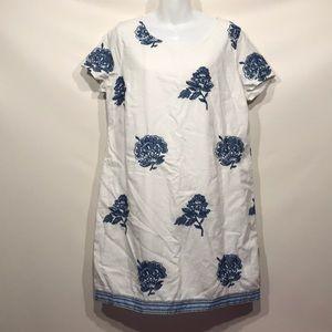 Old Navy Floral Pattern Short Sleeved Dress